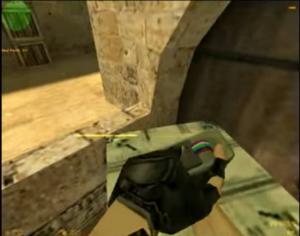 BombSite B niewidzialna paka