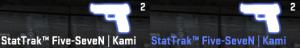 Kolor broni CS GO